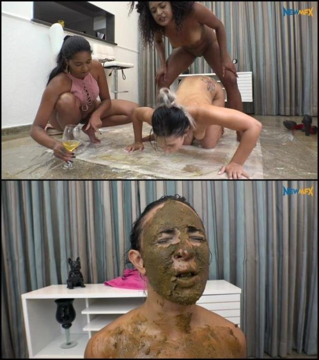 Black sisters scat humilliation white slavegirl. (UHD 4K) - Special #791 [UltraHD/4K] - 3.07 GB