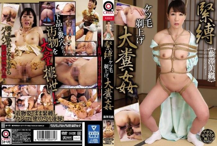 Scat binding and covered feces body Miori Fujisawa scatology. - OPUD-267 [SD] - 242 MB