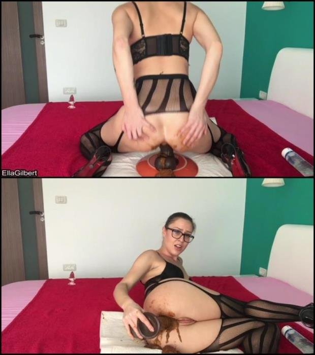 Ella Gilbert in black stokings hard fucked her dirty anal hole. - Special #575 [FullHD 1080p] - 981 MB