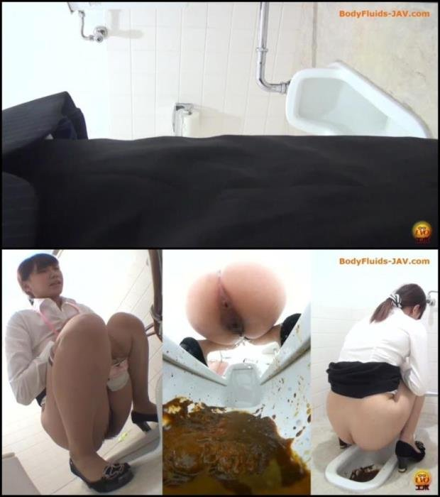 Sexy lady pooping in public toilet. - BFEE-25 [FullHD 1080p] - 758 MB