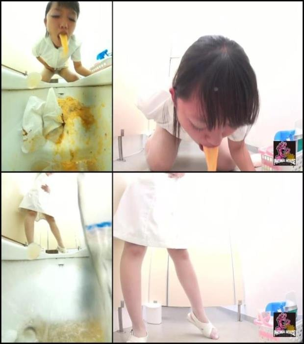 Girl puke in toilet after food poisoning. - BFJV-11 [FullHD 1080p] - 271 MB