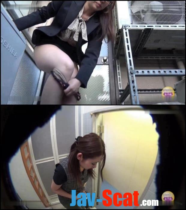 Blocked toilet despair girls pooping. - BFSL-04 [FullHD 1080p] - 999 MB
