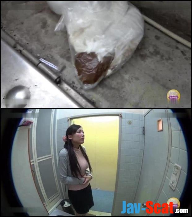 Blocked toilet girls accident defecates in public. - BFSL-01 [FullHD 1080p] - 763 MB