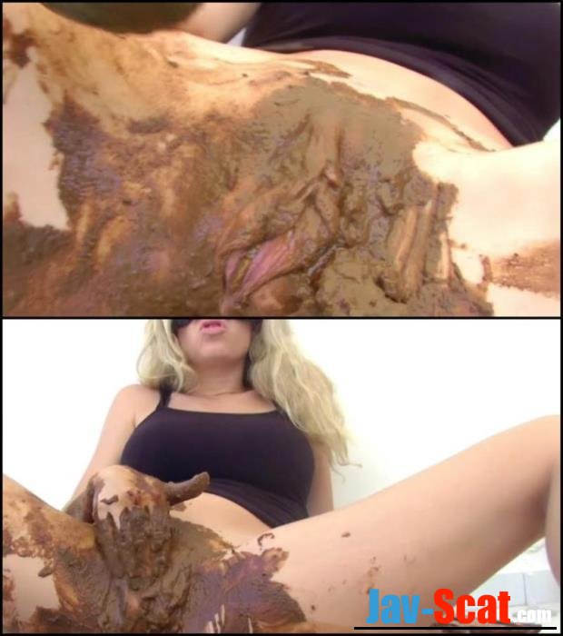 Fecal lybricant for masturbation dirty cunt. - Special #330 [FullHD 1080p] - 1.09 GB