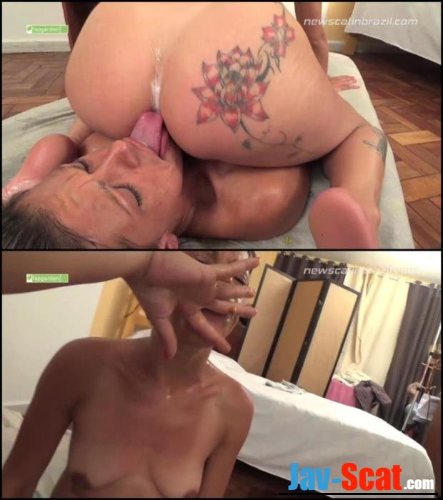 Mistress shitting in mouth and feed shit slavegirl. - Special #327 [FullHD 1080p] - 1.75 GB