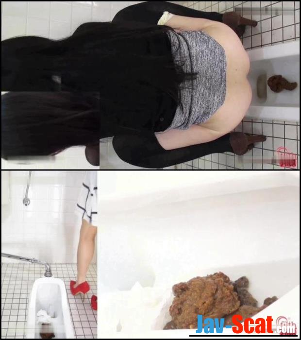Cuties girls pooping in public toilet. - BFFF-75 [FullHD 1080p] - 787 MB