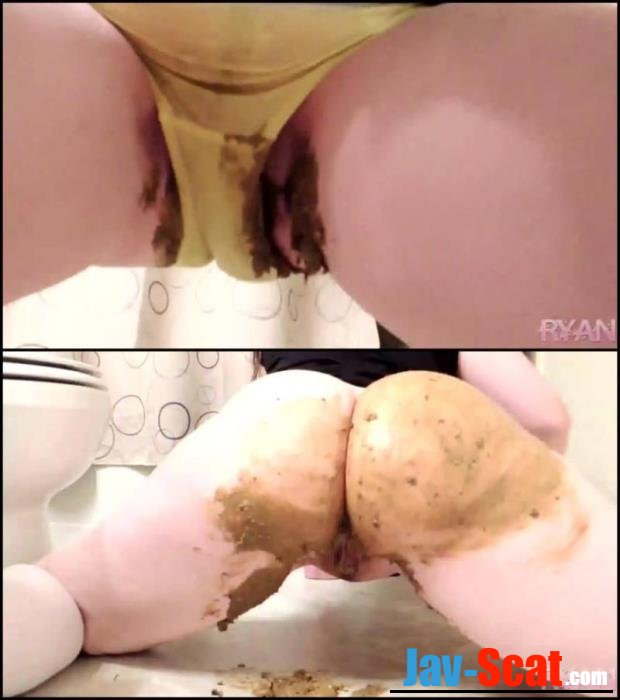 Pooping and pissing in yellow panties. - Special #178 [FullHD 1080p] - 303 MB