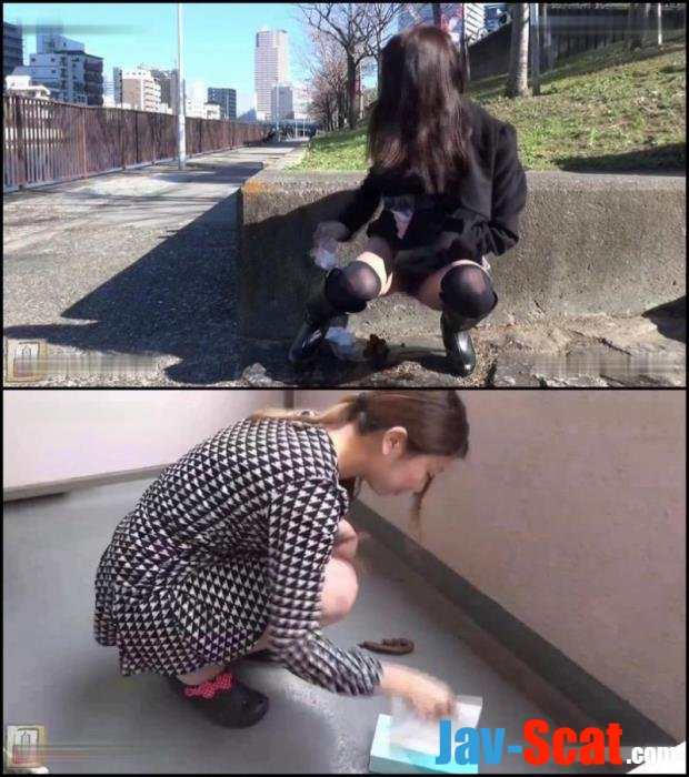 Self filmed girls poop in public places. - BFJG-23 [FullHD 1080p] - 581 MB