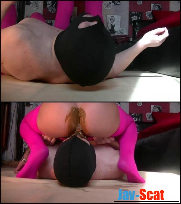 Godess in pink pantyhose for slave shitting facesitting. - Special #170 [FullHD 1080p] - 428 MB