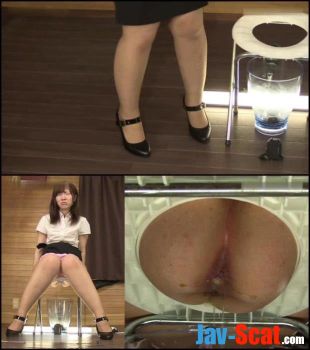 Emergency enema and excretion in restroom. - OJHI-52_01 [FullHD 1080p] - 670 MB