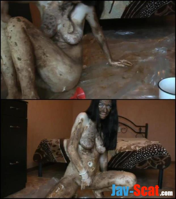 Russian girl covered shit masturbated pussy. - Special #120 [FullHD 1080p] - 1.04 GB