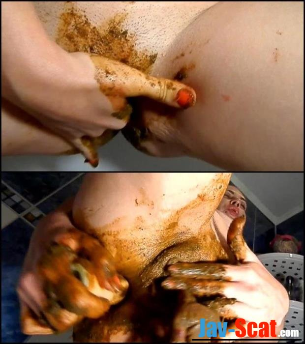 Anal masturbation with dirty feces pantyhoses in cunt. - Special #28 [FullHD 1080p] - 337 MB