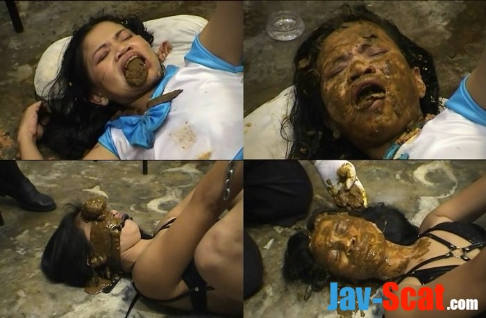 Shit on face and eat feces thai girl. -  [SD] - 494 MB