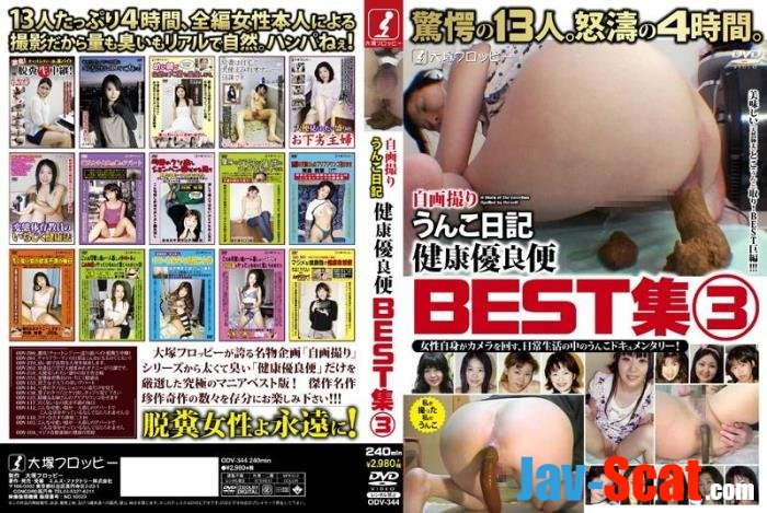BEST shit diary amateur girls defecates collection. - ODV-344 [SD] - 414 MB